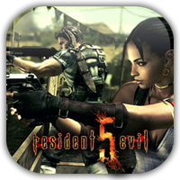 Resident Evil 5 Game Icon 3 by Wolfangraul