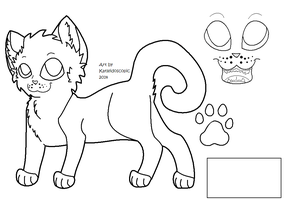Cat Basic Ref Sheet- FREE FOR NOW! by katleidoscopic