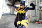 THE BATGIRL JUMP by dangerousladies