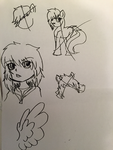 May 2014: Doodles 4 by TheRebelPhoenix