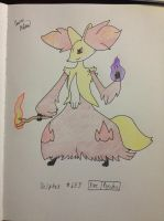 December 15, Favorite Psychic Type: Delphox by mashonem