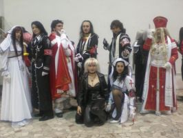Trinity Blood Cosplay Group - Cartoomics 2007 by NekoSamaWorks