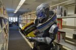 ME3 - Garrus Cosplay - Brushing up on skills by Nightlyre