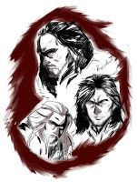 Sons of Durin by rocketsandpens