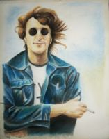 Lennon by isrobriones
