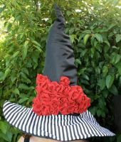 Wicked Vogue Witch Hat by mermaidencreations