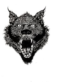 Wolf Head by Ty-Calibre