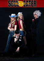 Soul Eater: Charming Four by wtfproductionsskits