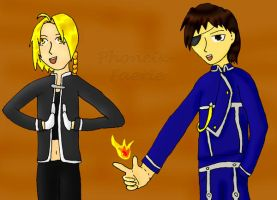 FMA - Playing with Fire by Phoneix-Faerie