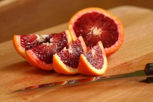 Blood Orange Slices by froggynaan
