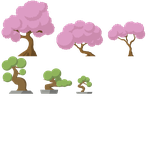Japanese Trees by android272