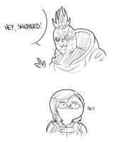 MASS EFFECT 2: PINEAPPLEGARRUS by HYUMAN