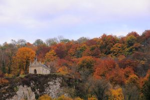 Chapelle d'Automne by scubapic