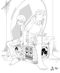 Kevin and Scott (Sons of Nowhere) by pseudo-science