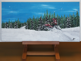 Crowfoot Mountain by WolvyDesigns