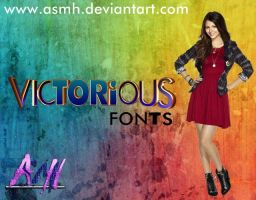 Victorious Fonts by ASMH