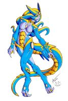 Undine (female) by UndeadKitty13