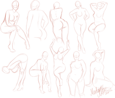 Curvy Girls Practice by MadameNyx