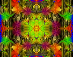Fractal Abstract Aug. 3, 2011 by Hillbillygirl