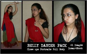Belly Dancer Pack by Insan-Stock