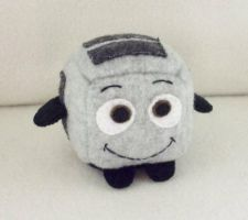 The Brave Little Toaster Cube Plushie by Cube-lees