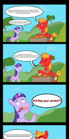 Big Mac needs help with a uh...big problem. by GeeksComeOutAtNight