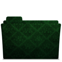 Folder-Icon Elegant Green by TylerGemini