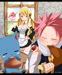 Are you hungry? Natsu x lucy by kisi86