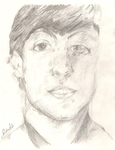 Paul McCartney - Sam Walsh study by Hugleeb97