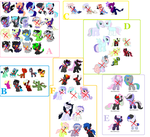 Huge unsold foal sheet [CLOSED] by CuppieCakeAdopts