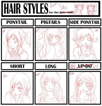 Hair meme: Aynn And Melissa by Loreleinn