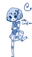 Blue Candy cane adopt!CLOSED by hanecco