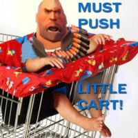 Must Push Little Cart by LincolnsShotgun