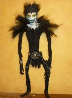 Handcrafted Ryuk- Doll from DN by AkatsukiFan505
