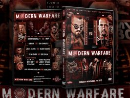 NWA Fight Nation Modern Warfare official DVD Cover by Mohamed-Fahmy