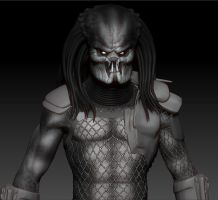 Predator - Zbrush WIP 13 by FoxHound1984