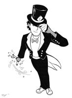 Zachary Zatara by BevisMusson