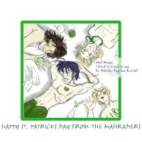 Mauraders St. Patricks Day by Le-Artist-Boheme