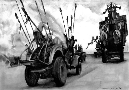 mad max fury road by tengari