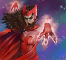 The Scarlet Witch by digistyle