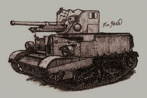 Universal Carrier 2-pdr by TimSlorsky