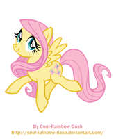 Fluttershy By Cool Rainbow Dash by Cool-Rainbow-Dash