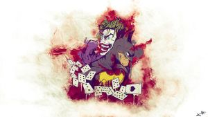 Batman and Joker Illustration by Flink-Design