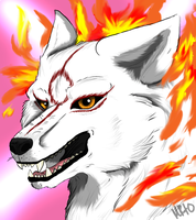 Amaterasu by FlameCurry