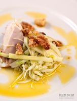 Chardonnay Poached Chicken Breast by DulcetEpicure
