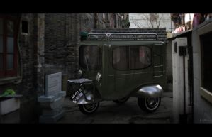 microcar 3d China by hugosilva