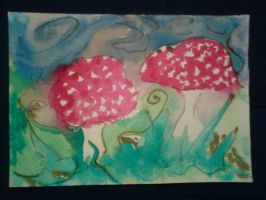 fly shroomies by paivansade