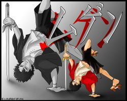Mugen - Samourai Champloo by be-a-sin
