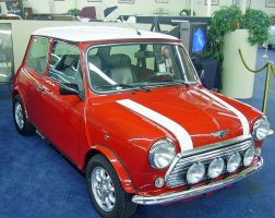 Austin Mini by DarkWizard83