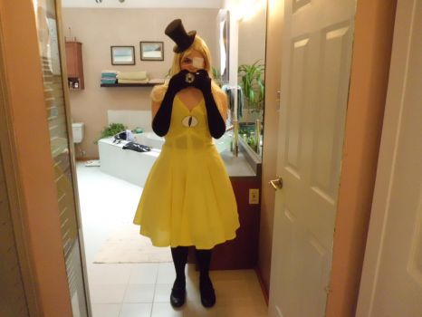 Fem!Bill Cipher cosplay (1/5) by Colette123